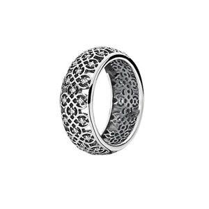 Authentic intricate lattice pandora ring!